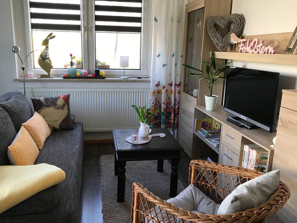 Wohnbereich Wohnküche Helenes Ferienwohnung Auf Dem Bauernhof